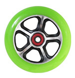 Madd Gear Forged Scooter Wheel 110mm Black and Green Scooter Wheel