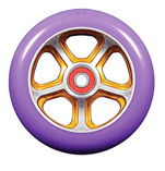 Madd Gear Forged Scooter Wheel 110mm Gold and Purple Scooter Wheel