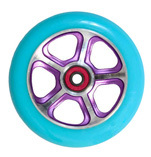 Madd Gear Forged Scooter Wheel 110mm Turquoise and Purple Scooter Wheel
