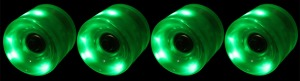 led-longboard-wheel-65mm-green-set-of-4