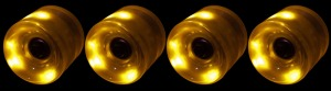 led-longboard-wheel-65mm-yellow-set-of-4