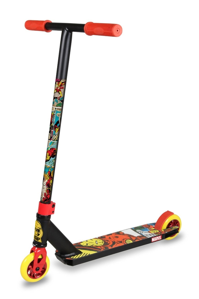 Madd Gear Marvel VX5 Pro Iron Man Scooter Complete