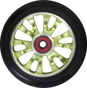 Madd Gear Vicious Scooter Wheel 110mm Green and Black
