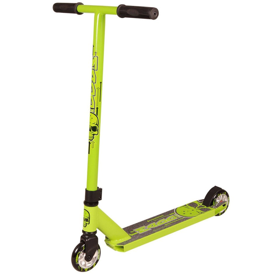 Madd Gear Whip Scooter Green Scooter Complete