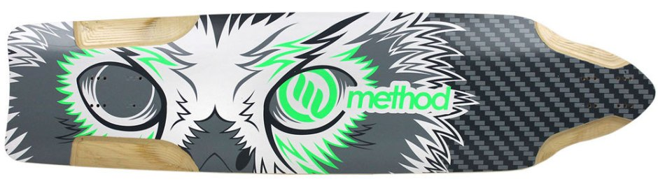 "Method Deck Downhill Green 9.875"" x 38.5"""