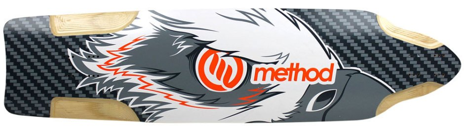 "Method Deck Downhill Orange 9.875"" x 38.5"""