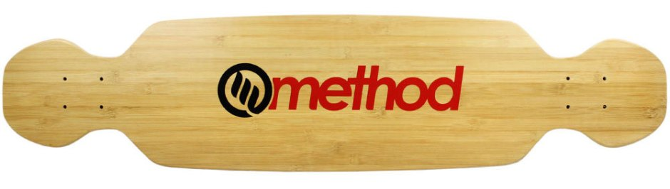 "Method Deck Boomslang Bamboo Red 9.25"" x 39.25"""