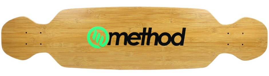 "Method Deck Boomslang Bamboo Green 9.25"" x 39.25"""
