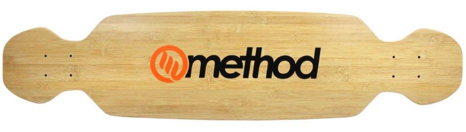"Method Deck Boomslang Bamboo Orange 9.25"" x 39.25"""