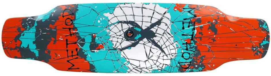 "Method Deck Camber Assault Spider 9.25"" x 33.25"""