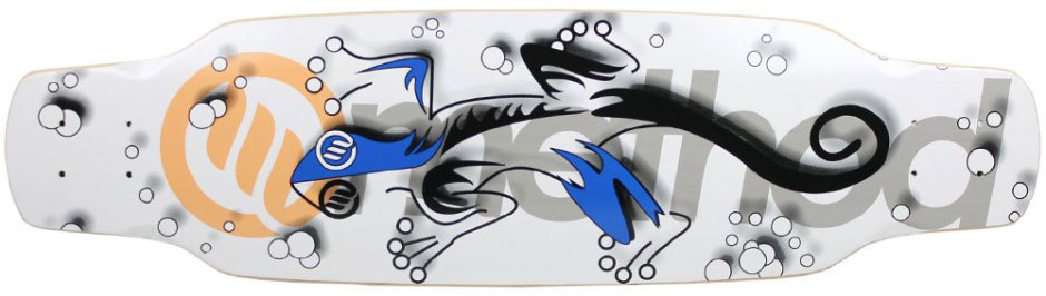 "Method Deck Camber Assault Gecko 9.25"" x 33.25"""