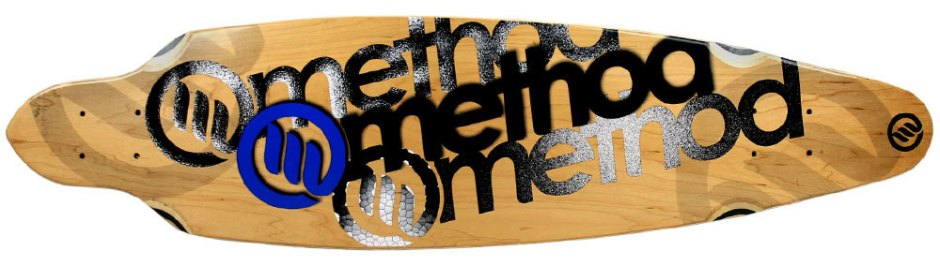 "Method Deck Impluse Logo Blue 9"" x 36"""