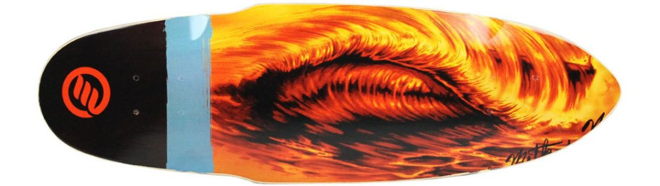"Method Deck Mini Sunset Wave 9"" x 28.5"""