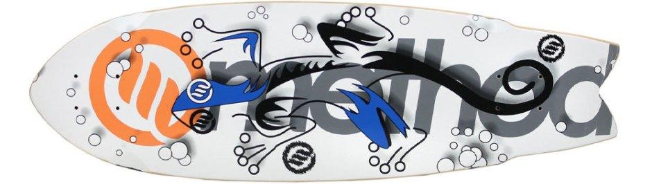 "Method Deck Swallow Tail Gecko 9.25"" x 30.25"""