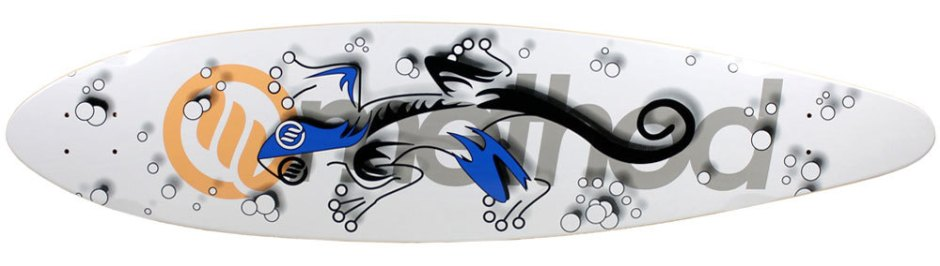 "Method Deck Pintail Gecko 9.75"" x 40.75"""
