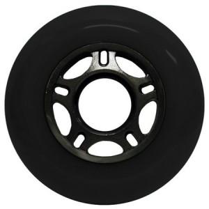 Blank Inline Wheel Black and Black 80mm 89a Inline Wheel