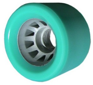Quad Roller Skate Wheel 62mm x 43mm 95a Blue Quad Roller Skate Wheel