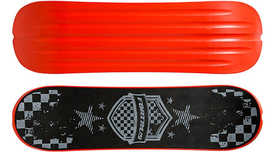 "Fortus 35"" Motorhead Red Snowskate (Top and Bottom)"