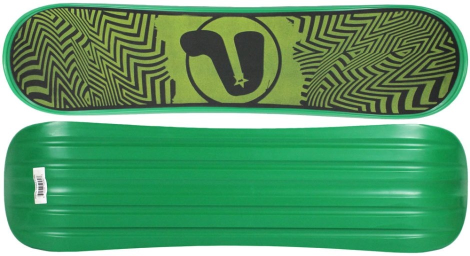 Premier Tripstick Green Snowskate (Top and Bottom)