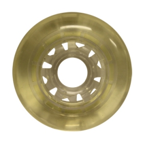 Blank Inline Wheel Clear 76mm 80a Inline Wheel