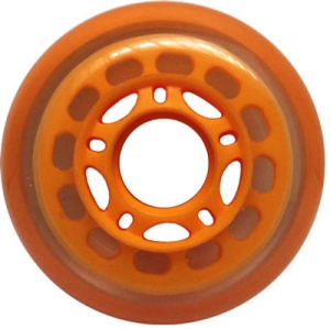 Blank Inline Wheel Orange 76mm 83a Inline Wheel