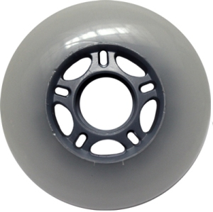 Blank Inline Wheel Gray 76mm 83a Inline Wheel
