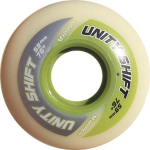 Hyper Wheel 59mm 76a Unity Shift Green Inline Wheel