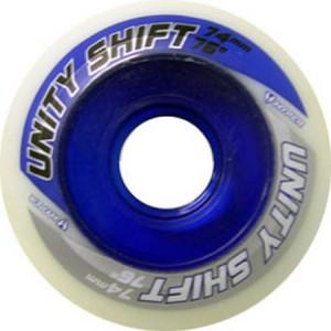 Hyper Wheel 74mm 76a Unity Shift Blue Inline Wheel