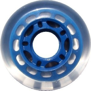 Blank Inline Wheel Blue 72mm 78a Inline Wheel