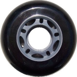 Blank Inline Wheel Black 72mm 82a Inline Wheel