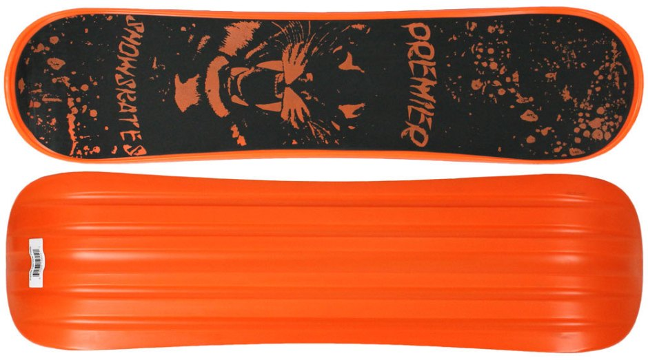 Premier Tigerstyle Orange Snowskate (Top and Bottom)