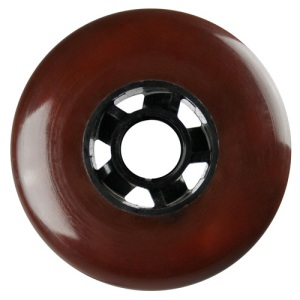 Blank 100mm 88a Scooter Wheel Brown and Black Cyclone Hub Scooter Wheel