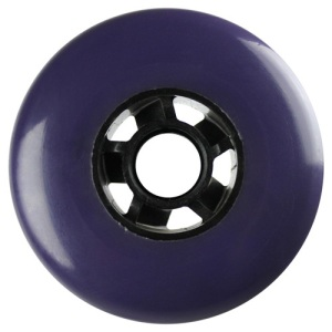 Blank 100mm 88a Scooter Wheel Purple and Black Cyclone Hub Scooter Wheel