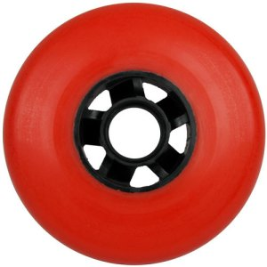 Blank 100mm 88a Scooter Wheel Red and Black Cyclone Hub Scooter Wheel