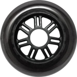Blank 100mm 88a Scooter Wheel Smoked and Black 7 Spoke Hub Scooter Wheel