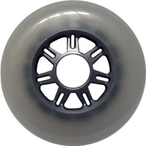 Blank 100mm 88a Scooter Wheel Cloudy and Silver 7 Spoke Hub Scooter Wheel