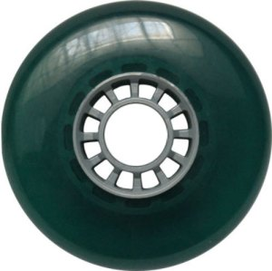Blank 100mm 88a Scooter Wheel Turquoise and Silver Spider Hub Scooter Wheel
