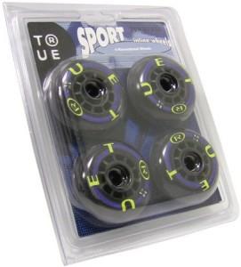 True Wheels 82a 70mm Sport Inline Wheels Set of 4