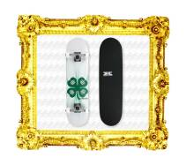Featured-Plunder-Krown-Four-Leaf-Clover-Skateboard-Complete