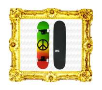 Featured-Plunder-Krown-Intro-Rasta-Peace-Sign-Skateboard-Complete