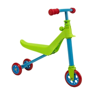 Zycom Kids 2 in 1 Scooter Zykster Blue and Red Scooter Complete