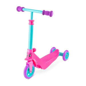 Zycom Kids 2 in 1 Scooter Zykster Teal and Pink Scooter Complete