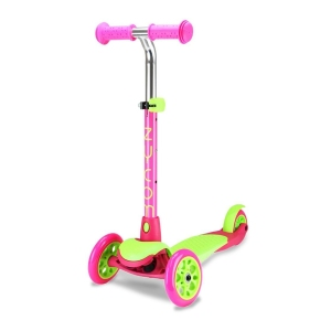 Zycom Kids Scooter Zing Green and Pink Scooter Complete