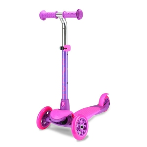 Zycom Kids Scooter Zing Pink and Purple Scooter Complete