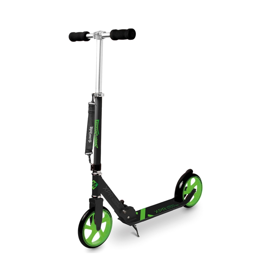 street-surfing-road-scooter-complete-xpr-black-and-green